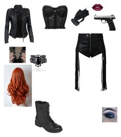 """""""Untitled #2779"""" by anamaria-zgimbau ❤ liked on Polyvore featuring MuuBaa, Arizona, Dolce&Gabbana, Diesel, Wilsons Leather and Lime Crime"""