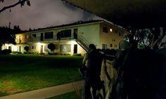Nov 29, 2012, Upland. LASD SEB take barricaded murder suspect into custody.