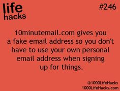 This really works. It gives you an email address that expires after 10 minutes. It allows you to read a message and confirm your email address.