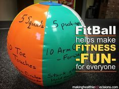 Learn how to make your own FitBall for a quick physical activity break! Learn how to make your own FitBall for a quick physical activity break! Do you need a quick physical activity break or game to help make fitness fun for youth? I created… Fun Fitness, Family Fitness, Physical Fitness, Fitness For Kids, Workout Fitness, Fitness Tips, Fitness Websites, Health Fitness, Physical Exercise