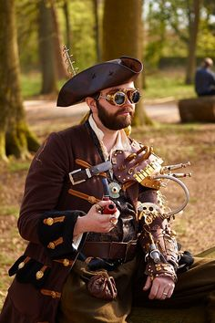 Steampunk Fashion & Gadgets : Steampunk Man
