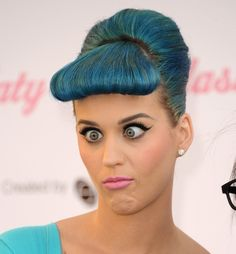 Katy Perry :) I love that she is herself and willing to be funny and silly!