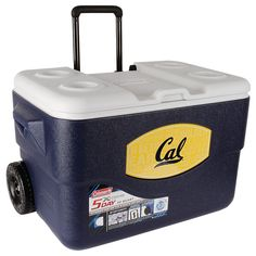 Coleman - 50 Qt Xtreme® wheeled Cooler California Golden Bears I think he needs this!