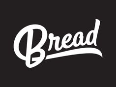 Bread word mark by The Prince Ink Co.