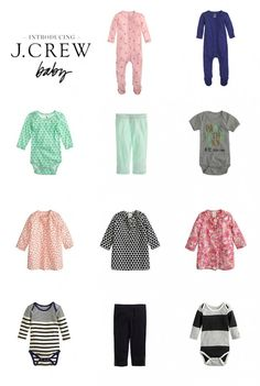 J.Crew Introduces Baby Collection | The Shopping Mama