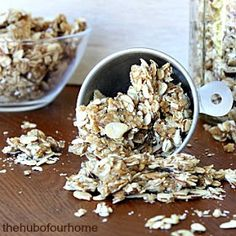 The Hub of our Home: Honey Almond Granola