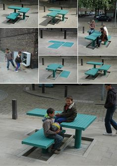 The POP-UP is street-furniture that can be pumped out of the pavement by the inhabitants.#urbanfurniture #flexible