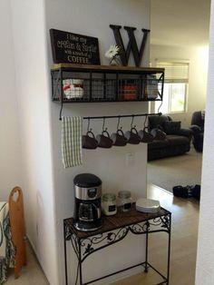 Coffee bar!
