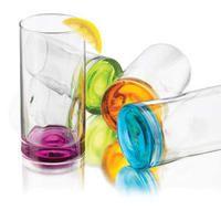 Impressions Colors Glassware 16.5 oz- 4pc