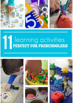 11 Learning Activities Perfect for Preschoolers - Kids Activities Blog