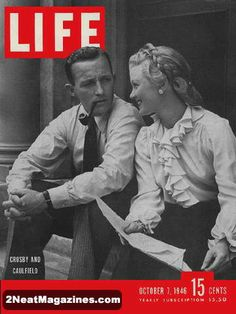 bing crosby magazine cover