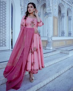 Add block print magic to your wardrobe and get an aura of rich tradition and sophistication with Peach Lily Handblock Kurta Palazzo Set Add Block, Stylish Dresses, Formal Dresses, Peach And Lily, Kurta Palazzo, Kurta Designs, Anarkali Suits, Kurti, Ethnic