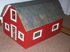 Beautiful Toy Barn. $200.00, via Etsy.