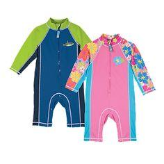 Sun Smarties Zip Suit