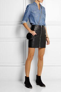 Saint Laurent - Denim shirt. Chemise En Jean · Homme Femme · Stylisme ·  Mode Jeans ... fa6cf998aa4c