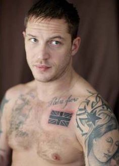 """Even more in love with Tom Hardy after seeing """"This Means War"""".. :) Yum!"""