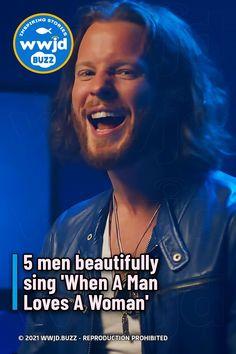 5 men beautifully sing 'When A Man Loves A Woman'