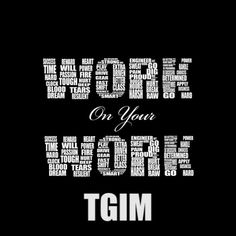 You must be able to step back from your work and be honest about what you do, before you can grow. You may not be as sweet as you think you are at what you do, so self assessment is critical to your growth!! #TGIM #OneTwentyExperience