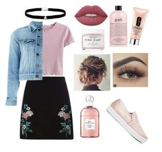 """""""Sin título #25"""" by yumary-v on Polyvore featuring moda, Dorothy Perkins, Herbivore, Clinique, philosophy, Lime Crime, Amanda Rose Collection, Yves Saint Laurent, Guerlain y Joie"""