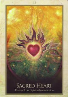 """""""The (Sacred) heart is magnetic, silent & still. The feeling of being there is like one of resting in a peaceful heavenly lake, or floating in a vacuous space. As a magnetic center, your (Sacred) heart is the great generator of all your life energy & whenever you empower your heart you raise your energy level physically, mentally, emotionally & spiritually ~ Jeshua ~ Love Without End by Glenda Green ♥♥ Art by Toni Carmine Salerno"""