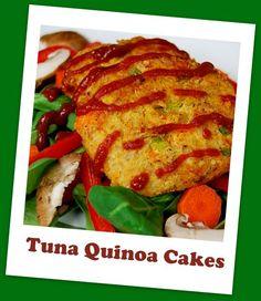 Tuna Quinoa Cakes via @The Lean Green Bean