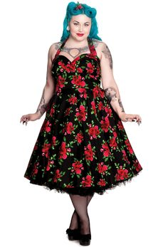 Hell Bunny Plus Size Cannes Dress - Black Hell Bunny Plus Size Cannes Dress - Black $75.00