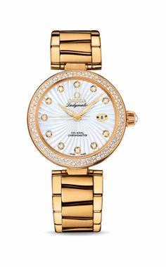 659c654c2469e7 425.65.34.20.55.002 Omega De Ville Ladymatic Women s 18K Yellow Gold Watch