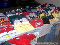 Tips for setting up a garage sale