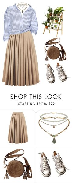 """""""Untitled #3597"""" by lbenigni ❤ liked on Polyvore featuring Acne Studios, Topshop, Converse and Kekkilä"""
