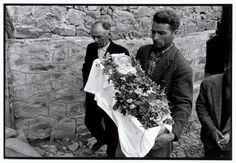 """Funeral of an infant. """"A Greek Portfolio"""" © Costa Manos/Magnum Photos"""