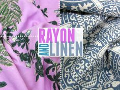 Happy Holidays with FreeSpirit & Rowan: Working with Rayon and Linen | Sew4Home