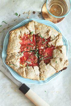 Heirloom Tomato Galette Recipe