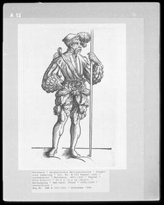 Landsknecht Woodcuts   Germanisches Nationalmuseum plate A13