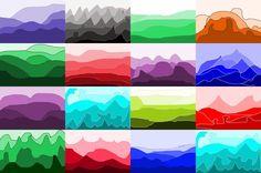 Art With Mr Hall: 10 min Value Landscapes, Hier zie je duidelijk hoe je een dieptewerking kunt toepassen bij een landschap. Atmosferisch perspectief