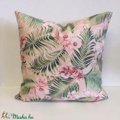 Pálmaleveles, trópusi, dzsungeles díszpárnahuzat (45x45cm) (EVYHomeDecor) - Meska.hu Décor Ideas, Handmade Home Decor, Minion, Throw Pillows, Pink, Toss Pillows, Cushions, Minions, Decorative Pillows