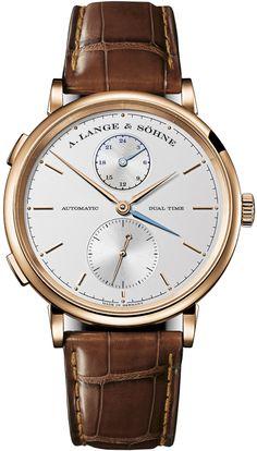A. Lange & Sohne [NEW][SP] Saxonia Dual Time 385.032 (Retail:EUR 26.000)HK$153.000
