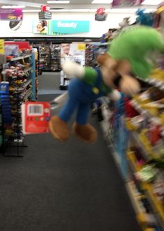 I like that he's under the sign Beauty because it reminds us that Luigi is beautiful