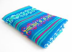 NEW Mexican Fabric aztec fabric tribal fabric by MexFabricSupplies