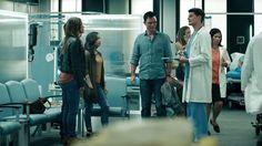 "Shut Eye 1x01 ""Death"" - Charlie Haverford (Jeffrey Donovan), Linda Haverford (KaDee Strickland), Nick Haverford (Dylan Ray Schmid) & Vicki (Eva Day)"