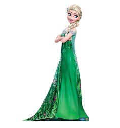 Disney Frozen Fever Elsa Life Size Cardboard Cutout