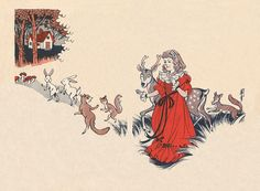 """""""Snow White"""" from Brother Grimm's Tales, illustrated by Takabatake Kaso. 「しらゆきひめ(白雪姬)」高畠華宵・画 与田準一・ 文 グリム・原作 1954"""