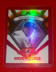 2009 Topps Mickey Mantle GR-7 Refractor New York Yankees nrmt-mt $1.49 NO RESERVE! Many more sports cards listed, discounted s for multiple buys, please check out my store! thanks!