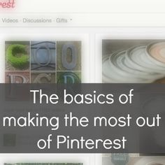 Four Plus an Angel shares all her secrets of how to use Pinterest.
