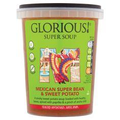 GLORIOUS! Mexican Super Bean & Sweet Potato Super Soup