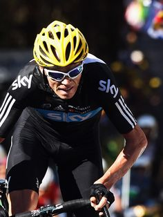 LA PLANCHE DES BELLES FILLES, FRANCE - JULY 07: Chris Froome of Great Britain and SKY Procycling rides up the final climb to win stage seven of the 2012 Tour de France from Tomblaine to La Planche des Belles Filles on July 7, 2012 in La Planche des Belles Filles, France. (Photo by Bryn Lennon/Getty Images)