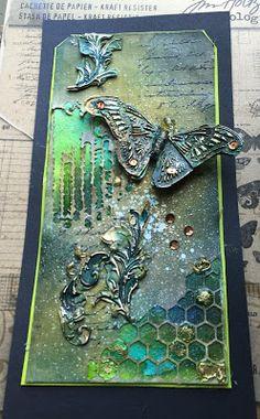 Golden Flourish's (The Artistic Stamper Creative Team Blog)