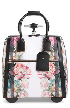 50bbf1daa Ted Baker London Ted Baker London Painted Posie Two-Wheel Travel Bag  available at