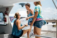 Spared Irma's Worst, Puerto Ricans Sail to Virgin Islanders' AssistPhoto                           From left, Alexandra Alvarez, Sherry Conklin and Kristie Olmeda packed water to bring to St. Thomas.                                      Credit             Erika P. Rodriguez for The New York Times                     FAJARDO, P.R. — Puerto Rico, dealt only a glancing blow by Hurricane Irma, has become an impromptu emergency hub for its Caribbean neighbors that were left devastated by the…