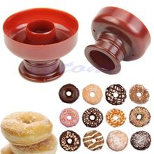 F85 Free Shipping New Donut Maker Cutter Mold Fondant Cake Bread Desserts Bakery Mould Tool DIY  (China (Mainland))