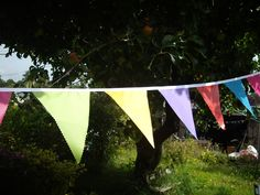 Multicoloured all weather ripstop Bunting